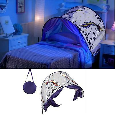 Kids Baby Bed Canopy Bedcover Magical Unicorn Bed Canopy Dome Tent