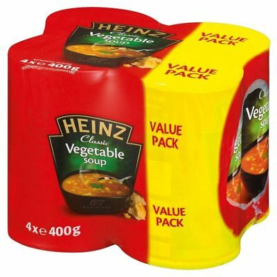 Heinz Classic Vegetable Soup (4x400g) - Pack of 6