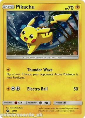 Pikachu SM81 Holo Promo Mint Pokemon Card
