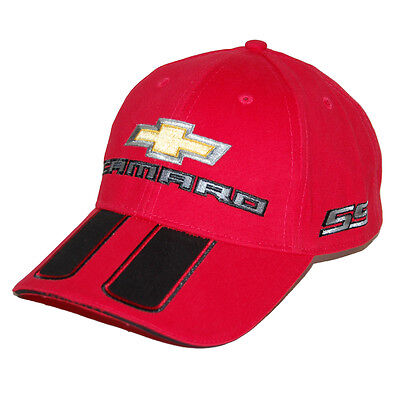 2010 - 2018 Chevrolet Camaro SS Rally Red Hat Cap SHIPPED IN A BOX FREE