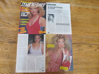 Morgan Fairchild Vintage French Clippings,poster