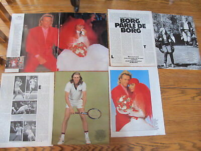 Bjorn Borg French Clippings