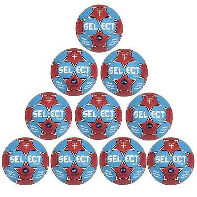 10x Select Match Soft Handball Ballpaket blau rot Gr. 3 1622858232