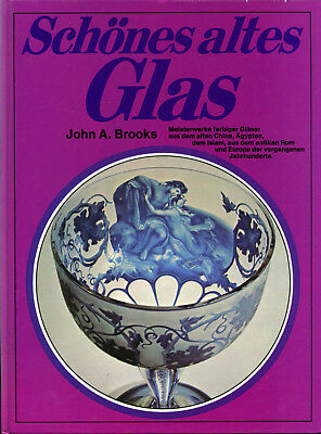 John A. Brooks Schönes altes Glas New York / Frankfurt 1976