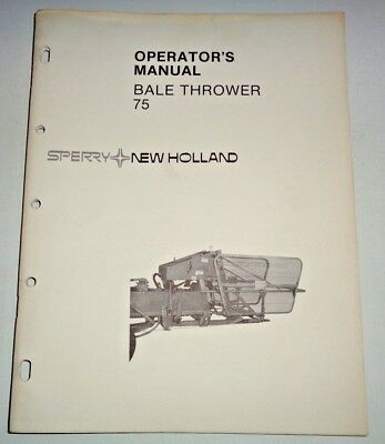 Nh 315 Square Baler Manual