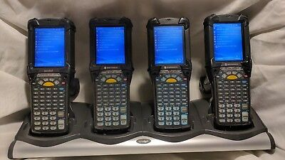 Lot of 4 Motorola Symbol MC9090-GF0HJGFA6WR Windows Mobile 5 Wavelink Scanner 4x