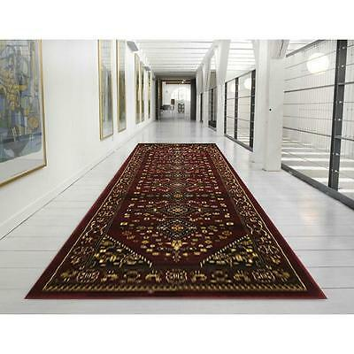 Hallway Runner Hall Runner Rug Persian Design 5 Metres Long FREE DELIVERY BR6