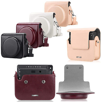 Leather Bag Case With Strap For Fujifilm Instax Square SQ6 Instant Film Camera