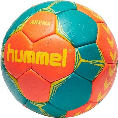 hummel Arena Handball Trainingsball Handbälle Ball Training orange/grün 091791