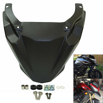 Front Fender Beak Nose Cone Extension Cover For 15-18 YAMAHA FJ-09 MT-09 Tracer