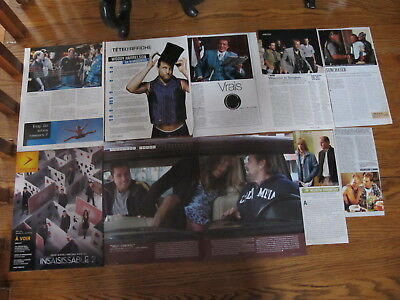 Woody Harrelson Rare French Us Clippings