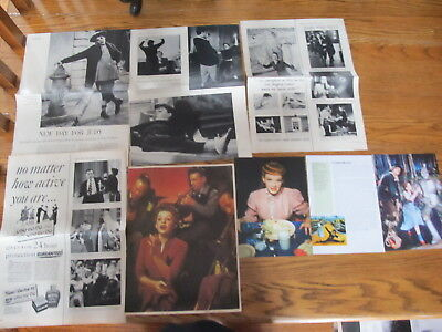 Judy Garland Vintage French,us Clippings