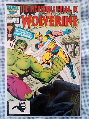 Incredible Hulk and Wolverine (1986), Hulk 180,181, 1st App of Wolverine
