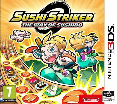 Sushi Striker: The Way of Sushido (3DS)  BRAND NEW AND SEALED - QUICK DISPATCH