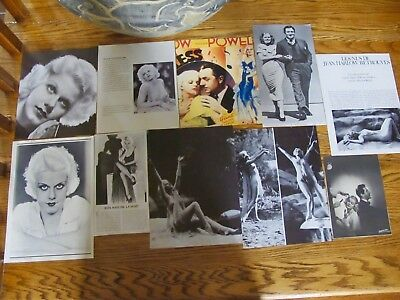 Jean Harlow Rare French Us Clippings