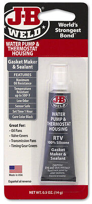 JB Weld 32507 Water Pump & Thermostat Housing RTV Sealant, Grey