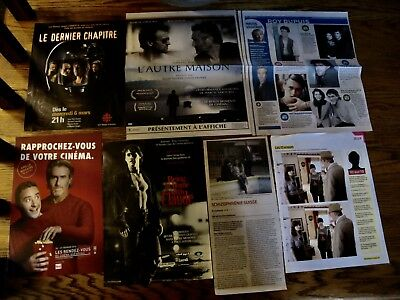 Roy Dupuis Rare French Clippings,poster.