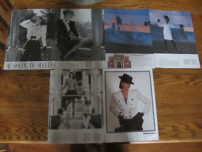 Linda Evangelista Vintage French Clippings