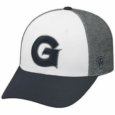 new style 173aa abae1 Georgetown Hoyas Official NCAA One Fit Hustle Hat Cap by Top of the World  538785