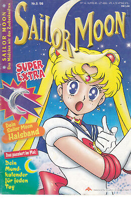 Sailor Moon Nr. 5 1998 ohne Beilagen