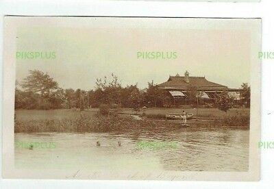 Chinese Postcard At The Back Of Beyond Shanghai China Real Photo Vintage 1910-20