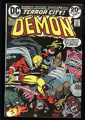 Demon (1972) #12 First Print Classic Jack Kirby Story, Cover & Art Royer FN/VF
