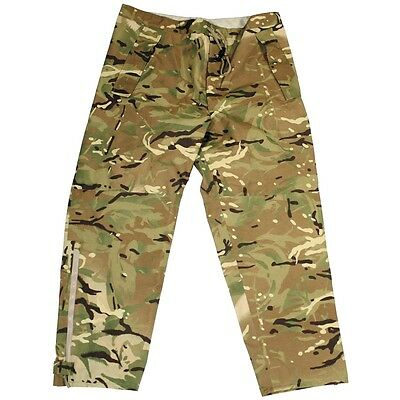 Britisch UK Army Nässeschutzhose Lightweight Waterproof Wet Weather MTP Hose XXL
