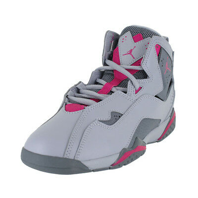 93755942ace8a0 Jordan True Flight Gp Wolf Grey Pink Cool Gry 342775 018 Kids Us Sizes