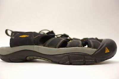 ebbb926a2aff KEEN Mens Rialto H2 Black Hiking Trail Walking Sandals Water Shoes Size 12