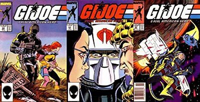 G.I. Joe: A Real American Hero #63-65 (1982-1994) Marvel Comics - 3 Comics