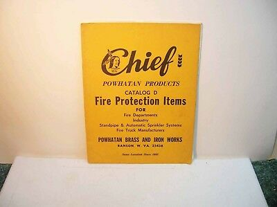 Chief Powhatan Catalog Fire Protection Items For Fire Departments