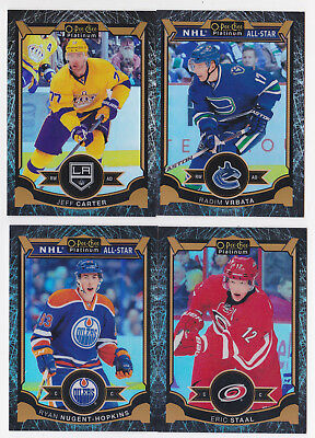 15-16 OPC PLATINUM Jeff Carter /99 BLACK ICE OPEECHEE LA Kings 2015