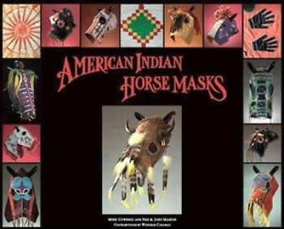 Native American Indian Horse Masks book Vintage Beaded