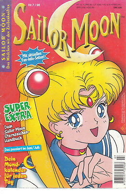Sailor Moon Nr. 7 1998 ohne Beilagen