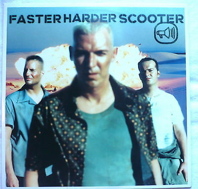 "SCOOTER - Faster harder Scooter (Full length + 3) - 12""-Maxi"