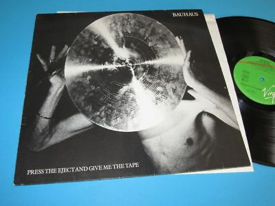 Bauhaus / Press The Eject And Give Me The Tape (GER 1982, Virgin 205 554) LP