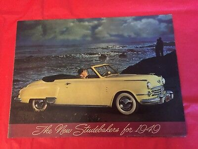 "1949 Studebaker ""Champion Commander Land-Cruiser"" Car Dealer Sales Brochure"