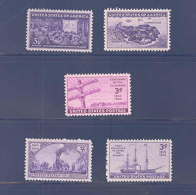 PKStamps - US - 1944 - Commemorative Year Set -  Mint Never Hinged