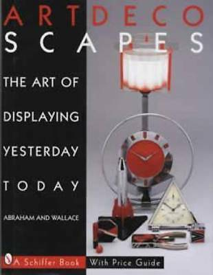 Art Deco Decoscapes Book Display Lamps Pottery Glass ++