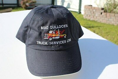 Ball Cap Hat - MacCulloch's Truck Services - Tow Towing Stellarton NS (H1892)