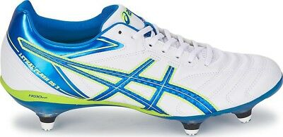 Mens asics Lethal Flash DS 3 Screw In Studs Rugby Boots Shoes Size UK 12  EUR 48