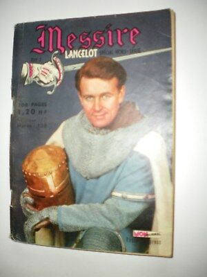 MESSIRE  n° 1 - Face aux Vikings - Tabor  -  juin 1962 -
