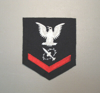 U.s Navy 3Rd Class Petty Officer Missile Technician Rate Patch L@@k