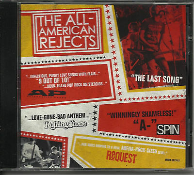 ALL AMERICAN REJECTS Last Song w/ RARE EDIT PROMO DJ CD Single MINT USA 2003