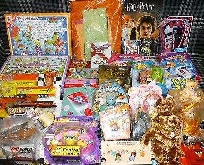JOB LOT OF 30 VARIOUS TOYS - suitable for market trader / car booter - LOT G