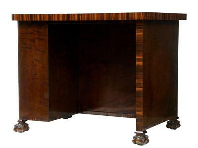 1920's BIRCH AND ROSEWOOD SMALL WRITING TABLE DESK