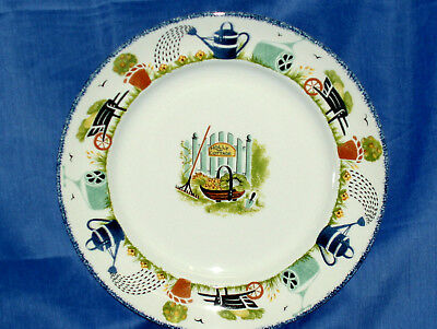 Wood & Sons~ HOLLY COTTAGE Dinner  Plate ~New~Made in England