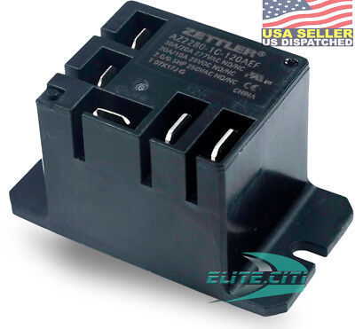 American Zettler Mini Power Relay SPDT 120V 30A SPDT, AZ2280-1C-120AEF *Discount