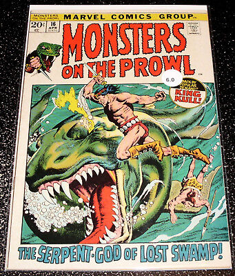 Monsters on the Prowl 16 (6.0) Marvel Comics