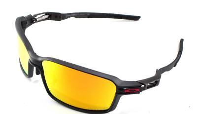 29dbd7a4d5 New Oakley Sunglasses Carbon Prime Black w Prizm Ruby Polarized  6021-0363